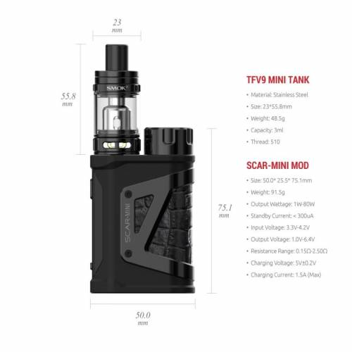 kit scar mini smoktech
